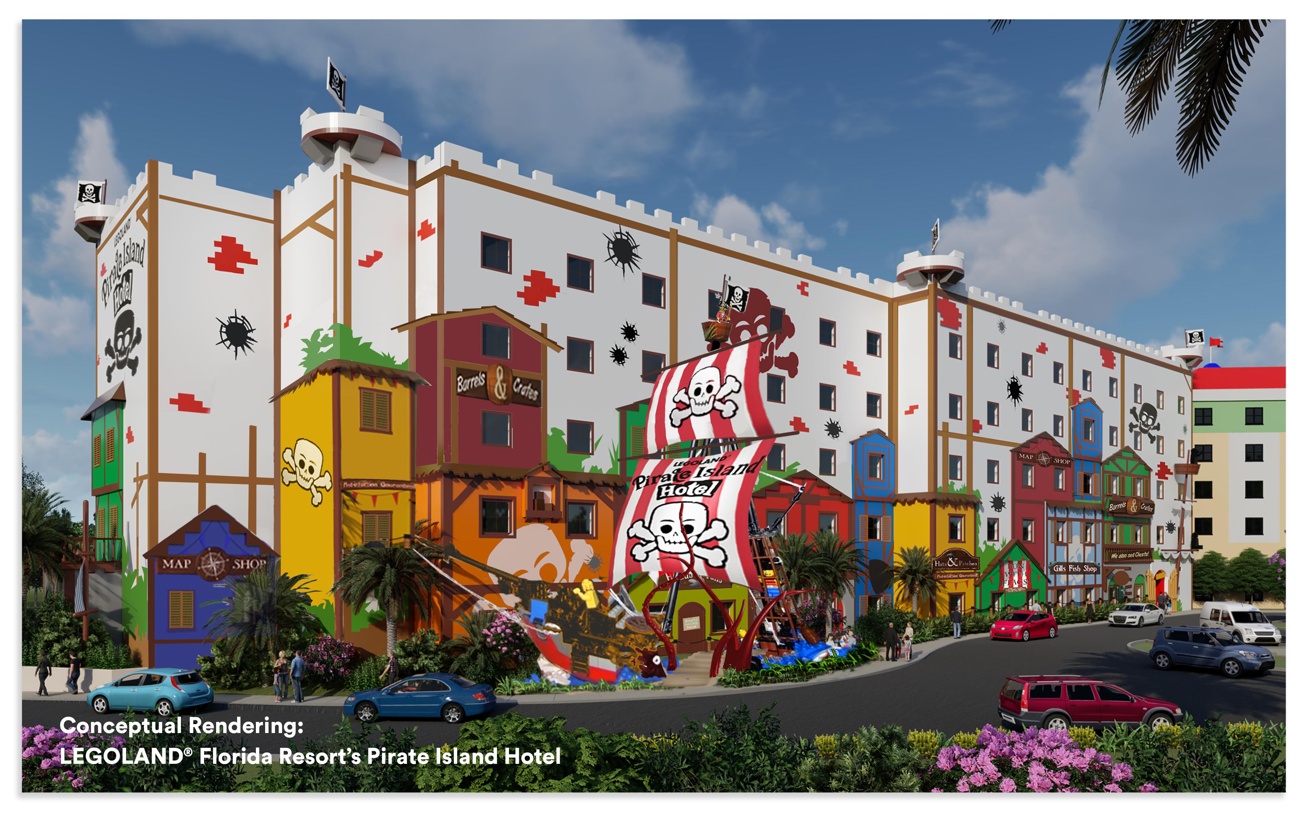 LEGOLAND Florida Resort inaugurará el Pirate Island Hotel ...